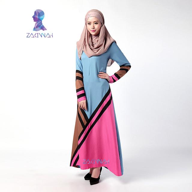 033 Nueva llegada de la moda abayas para las mujeres abaya islámico musulmán del abaya del vestido popular de las señoras 2016