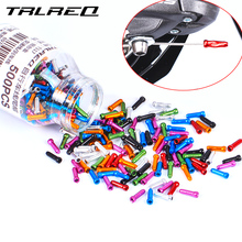 TRLREQ Mtb Bike Cable Cap Aluminum 6061 Bicycle Shift Wire End 50 Piece /lot