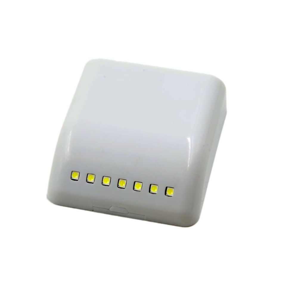 7 светодиодный умный датчик управления активированный настенный дверной ночной Светильник чисто белый маленький светодиодный светильник для шкафов Ящиков Шкафа