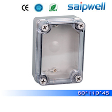 2015 best hot sale ip65 waterproof electrical box with transparent cover 80*110*70mm High quality DS-AT-0811-S