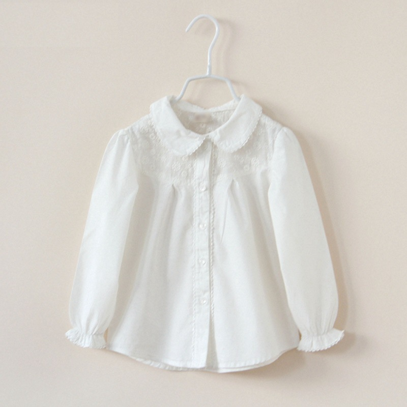 Roupas Infantis Menina Chemise Garcon New 2016 Spring Children Embroidered And Sleeved Trend Style Kids Girl Trench 100-140cm