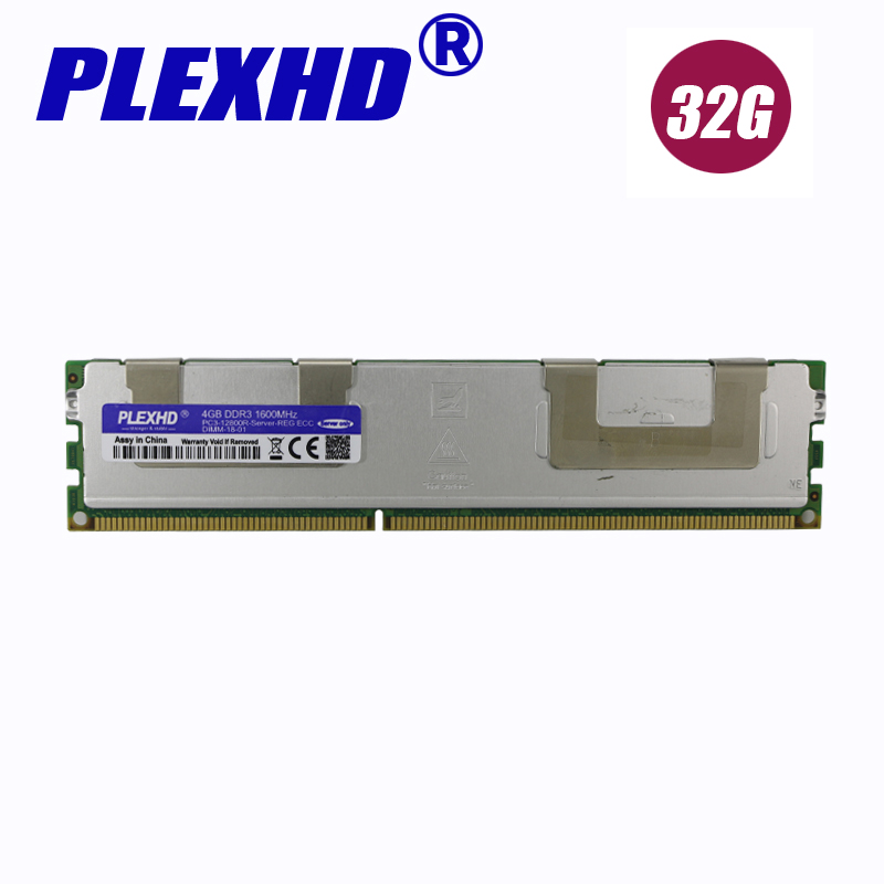 REG ECC Server Radiator Memory Original Chipset For SEC HY MIC 4GB DDR3 1333MHz 1600Mhz 1866Mhz 8G 1333 1600 1866 RAM X79 X58