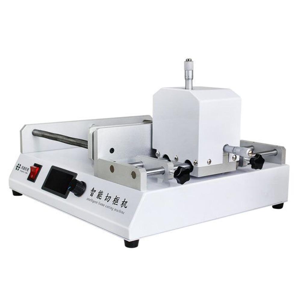 Machine de cadre de découpe Laser pour verre trempé différents protecteur d'écran de téléphone Mobile outil de réparation d'écran de coupe remis à neuf - 6