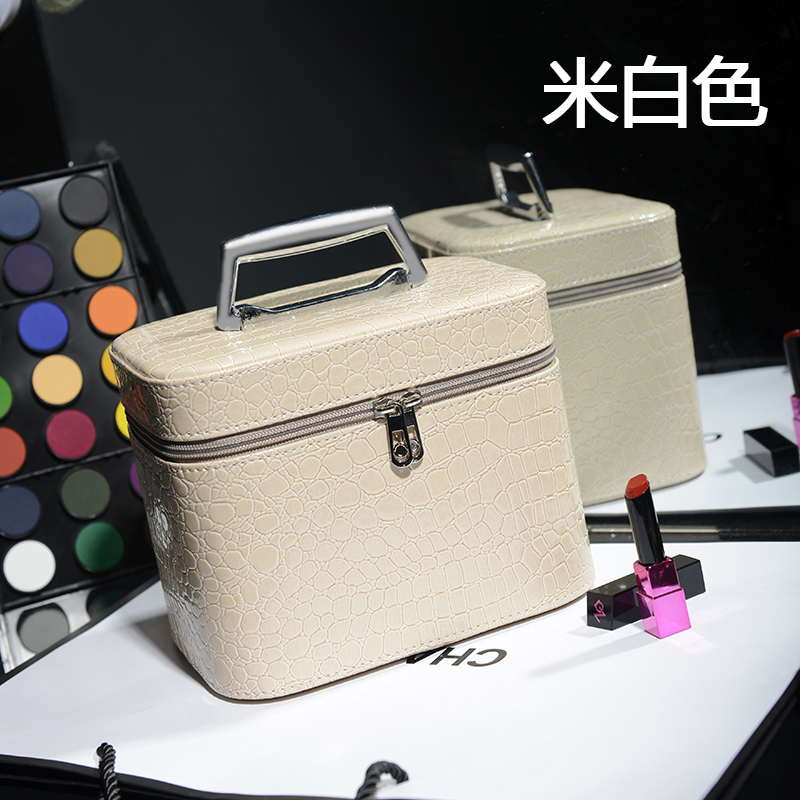 2018 Korean Women Cosmetic Bag Multifunctional Makeup Organizer Bag Portable Travel Pouch Bags Clutch Beauty Storage Box