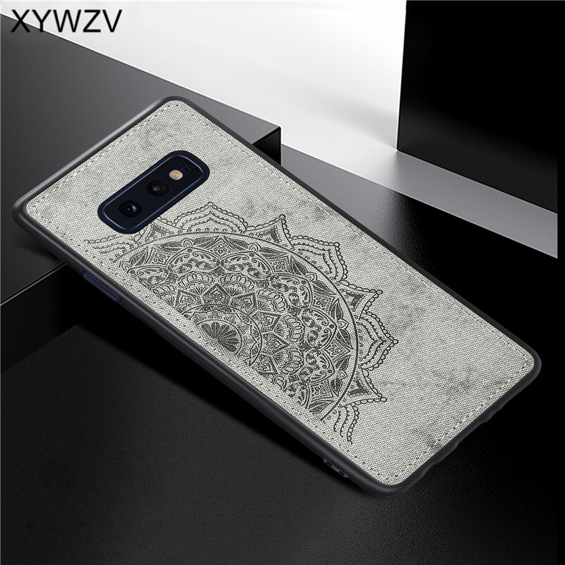 Image 4 - For Samsung Galaxy S10 Lite Case Soft TPU Silicone Cloth Texture Hard PC Phone Case For Samsung S10 Lite Cover For Samsung S10e-in Fitted Cases from Cellphones & Telecommunications