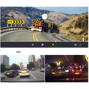 Image 5 - Relee RLDV 11 Vrachtwagen dvr camera systeem touch screen Dash Cam Dual FHD 1920x1080 P Video Recorder 7.0 Inch auto black box
