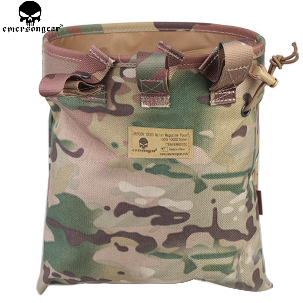 EMERSONGEAR Drop Pouch Tactical Sundries Folding Dump Pouch Airsoft - Jakt - Foto 3