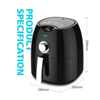 Air Fryer Household Intelligent No Fumes High Capacity Electric Fryer French Fries Machine 4.5L