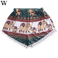 2017 Summer   Shorts   Women Casual High Waist   Short   Feminino pantalones cortos mujer Amazing