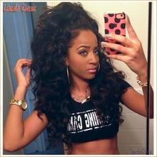 New Natural 4 4 Silk Loose Wave Glueless Full Lace Wigs Silk Top Brazilian Virgin Human