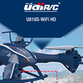 Nova UDI U818SW 2.4G 4CH Grande Câmera 5.0MP HD Wi-fi FPV RC Quadcopter Drone Helicóptero Pode levantar Distância Voando