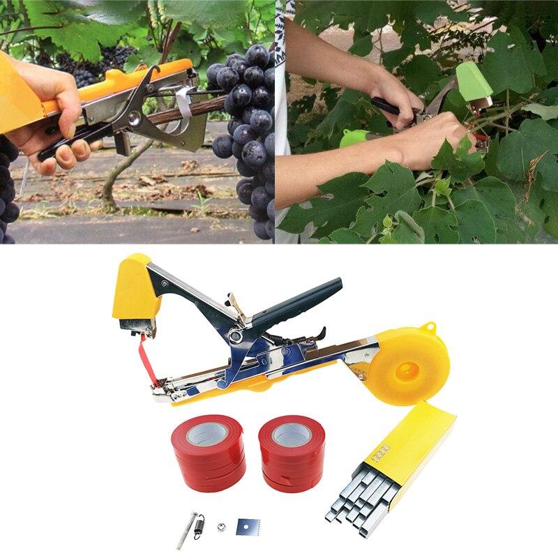Garden Tool Plant Tying Tapetool Tapener Machine Branch Hand Tying Machine Packing Vegetable Stem Strapping Pruning Tool