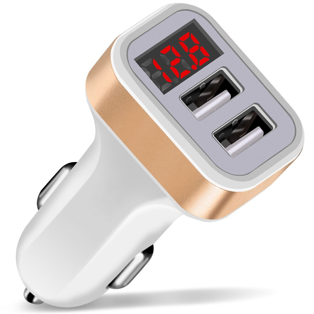 Proelio-Max-2-1A-Car-Charger-LED-Display-Dual-USB-Port-for-iPhone-Samsung-Xiaomi-Phone(6)