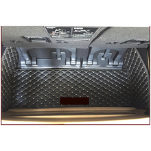 lsrtw2017 leather car trunk mat cargo liner for kia carnival 2006-2020 2016 2017 2018 2019 2015 2014 2013 2012 2011 grand Sedona giant sedona dx 2013