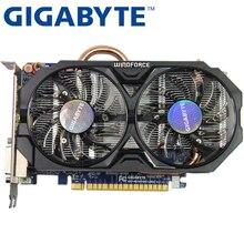 Оригинальная Видеокарта GIGABYTE GTX 750 Ti 2 Гб 128 бит GDDR5, видеокарты для nVIDIA Geforce GTX 750Ti Hdmi Dvi, используемые карты VGA