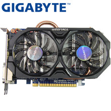 GIGABYTE Video Card Original GTX 750 Ti 2GB 128Bit GDDR5 Graphics Cards for nVIDIA Geforce GTX 750Ti Hdmi Dvi Used VGA Cards(China)