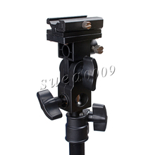 Supon Flash Hot Shoe Adapter Trigger Umbrella Holder Swivel Light Stand Bracket B Type