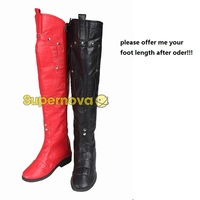Batman Arkham Knight Harley Quinn Cosplay Boots Shoes