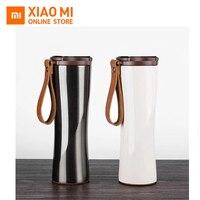 Xiaomi Kisskissfish Moka Stainless Smart Coffee Cup Thermal Vacuum Water Bottle App Rmote Control Sensitive Temperature Sensor