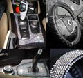 Coche Que Labra 900 unids de 3mm Rhinestone etiqueta engomada del coche Para Renault Duster Sandero Clio Megane Scenic 2 botón Captur Twingo Modus