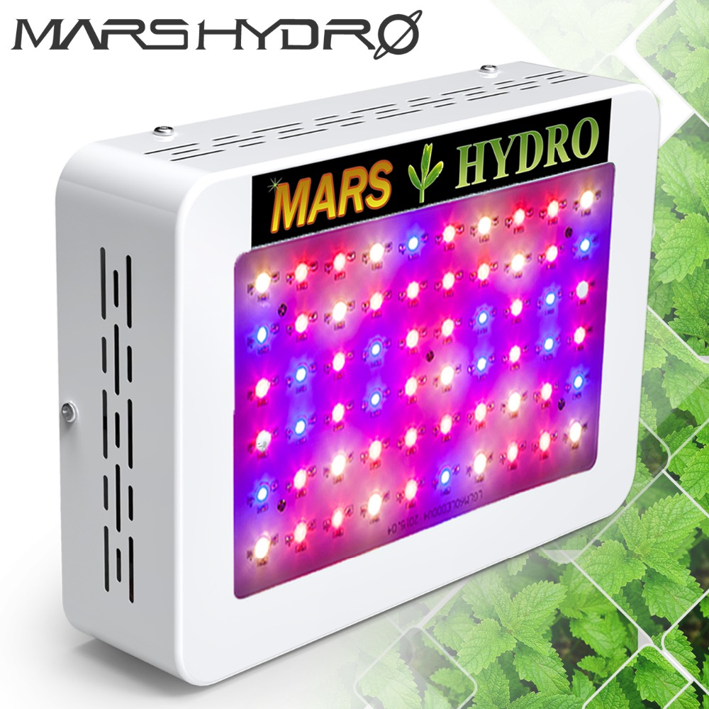 Mars Hydro LED Grow Light 300W Full Spectrum Lamp ,Indoor Medical Plant Veg/Flower Hydroponic Planting Indoor Garden strawberry grow bag gardening flower pot planting bag living indoor wall planter garden tool