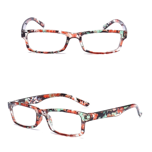 d50ff3b18ac Square Anti Fatigue Reading Glasses Eyeglasses Readers Presbyopia +1.0 -  +4.0
