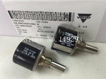 [BELLA]English Vishay spectrol 534-1-1 100R 200R 500R 1K 2K 5K 10K 20K 50K 100K precision multi-turn potentiometer  Europe-5P