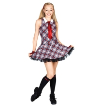 Children new Scottish tartan dress modern dance stage costumes dance clothes
