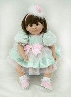 20/50 cm Handmade Soft Fake Baby Doll Reborn Lifelike Baby Girl Doll simulation creative play house toys for kids lovely toys