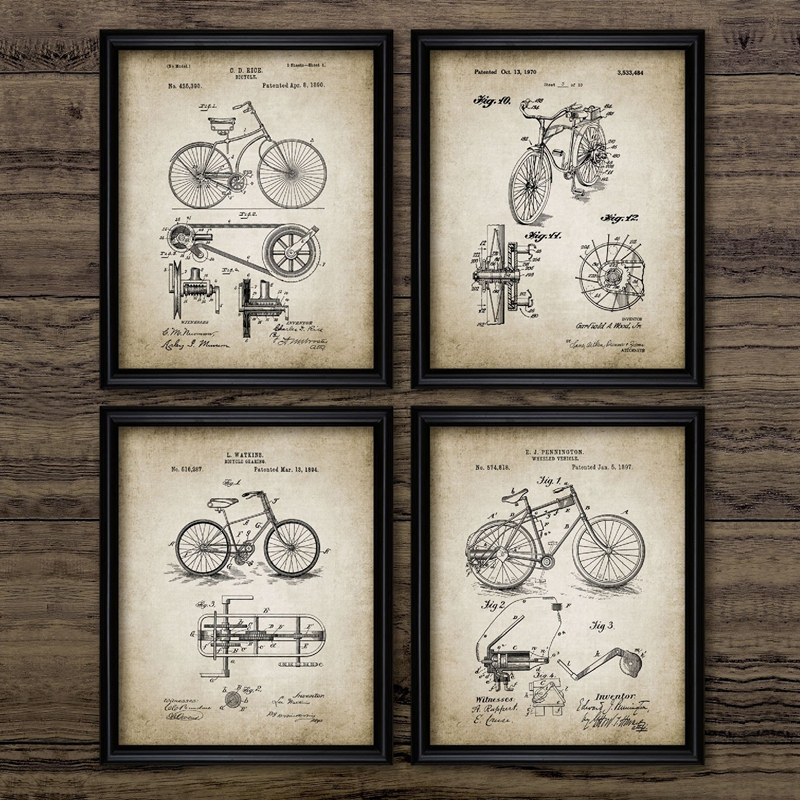 Evolution of Camera Poster Old Nostalgia Retro Poster Decorative Free Shipping