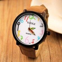 Taobao YAZOLE 2018 novo design patente de design casal legal dos homens das mulheres Assistir À Prova D' Água Relógios Relógio relogio kol saati masculino