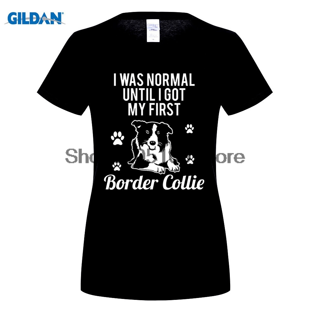 GILDAN men fashion brand t shirt Sorry I'm Late My Border Collie Was Sitting on Me T-shirt men Short Sleeve T Shirt
