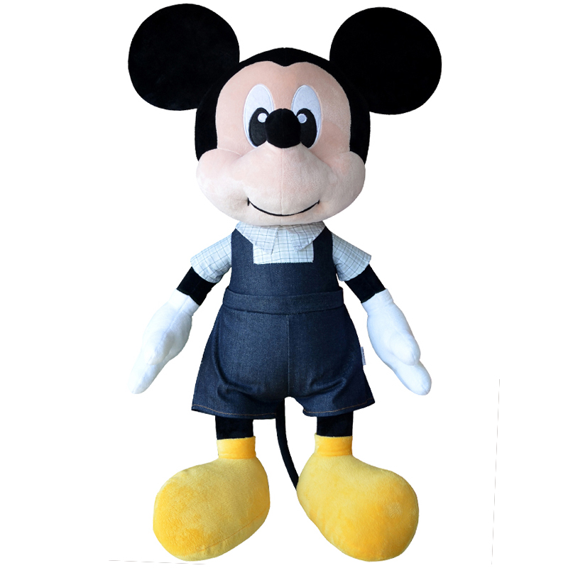 Disney Cowbo Mickey Mouse Minnie  Plush Toys Doll  Baby Boys Girls Stuffed Plush Toys Birthday Christmas Gifts Toys For Children
