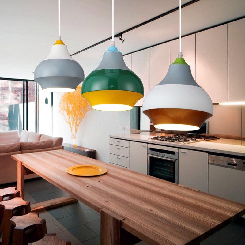 Modern Nordic Pendant Light Indoor Hanging Drop Light Contemporary Suspension Pendant Lamp Restaurant Dining Pendant Light (3)