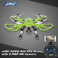 Original JJRC H26W 2.4G 4CH 6 Axis Gyro RC Wifi FPV Quadcopter Real-time Transmission Drone with 2.0MP HD Camera and LED Light