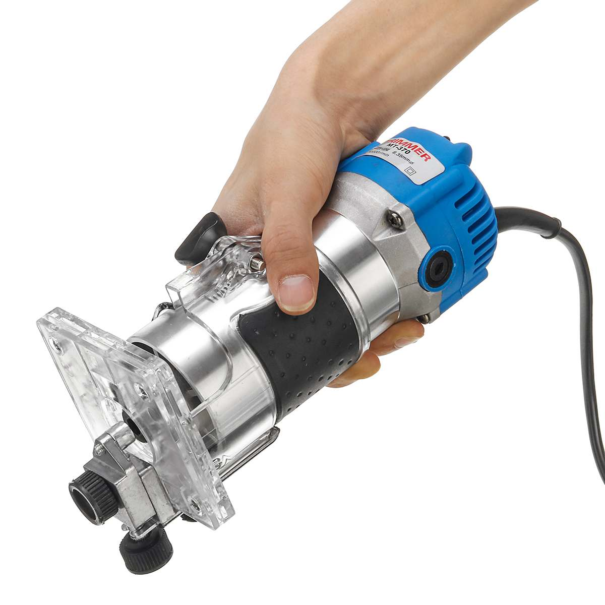220/110 V tondeuse à main électrique bois stratifié paumes routeur menuisiers menuiserie outil électrique mandrin 6.35mm 1/4