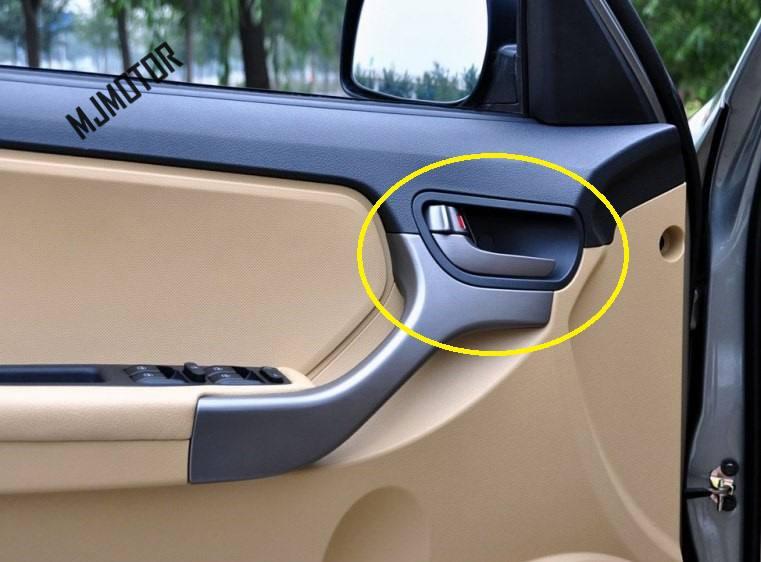 1pcs 4 doors Interior Door Handles inner door handle for Chinese CHERY TIGGO SUV 2010-2013 Auto car motor part T11-6105120PF(China)