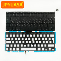 10pcs Lot Brand New Replacement Keyboard For MacBook Pro 13 A1278 RU Russian Keyboard Backlight Backlit