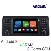 4G RAM Android 8.0 Car DVD Player for BMW BMW E39 X5 M5 E38 E53 Car Radio GPS stereo navigator tape recorder support wifi canbus