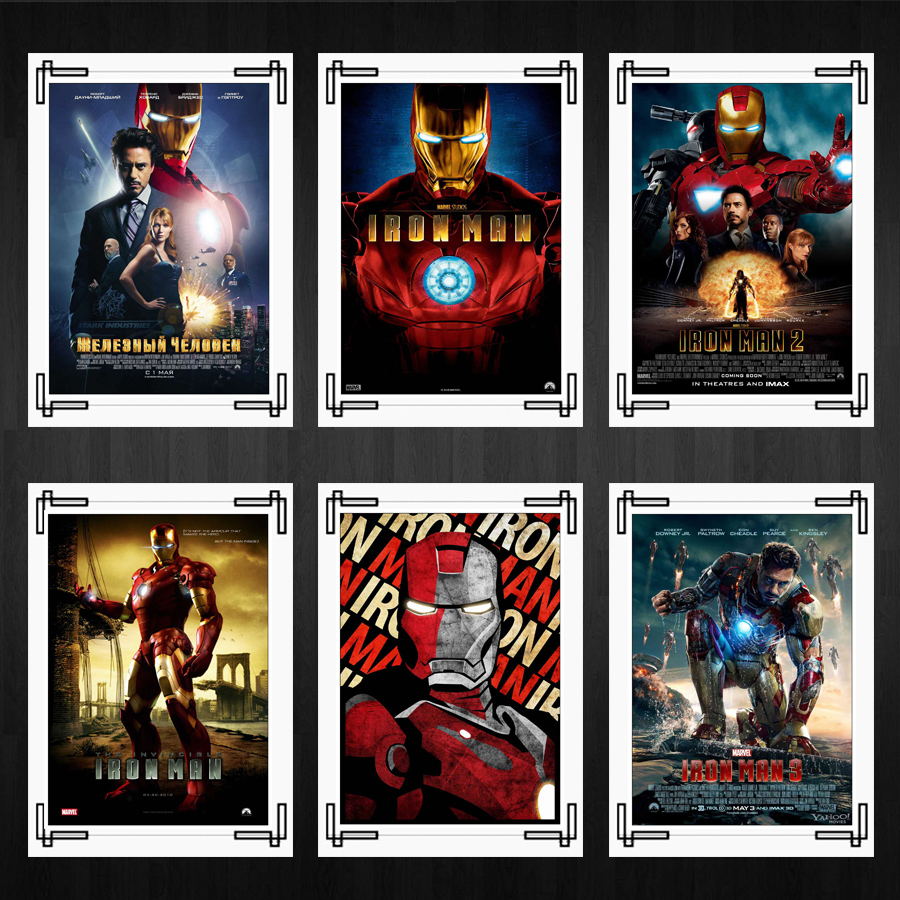 Iron Man Posters Marvel Comics Movie Posters Home Room Bar