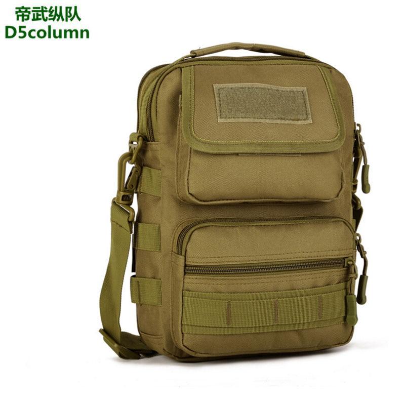 Мужская нейлоновая Дорожная Сумка Molle, камуфляжная сумка через плечо, Ультралегкая армейская сумка-мессенджер, ручная сумка