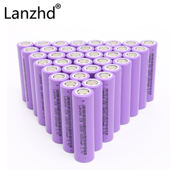 40pcs high power 13A 5C 18650 battery  ICR18650 batteries lithium battery for Laptop,Toy,Electric drill,electronic smoke cell