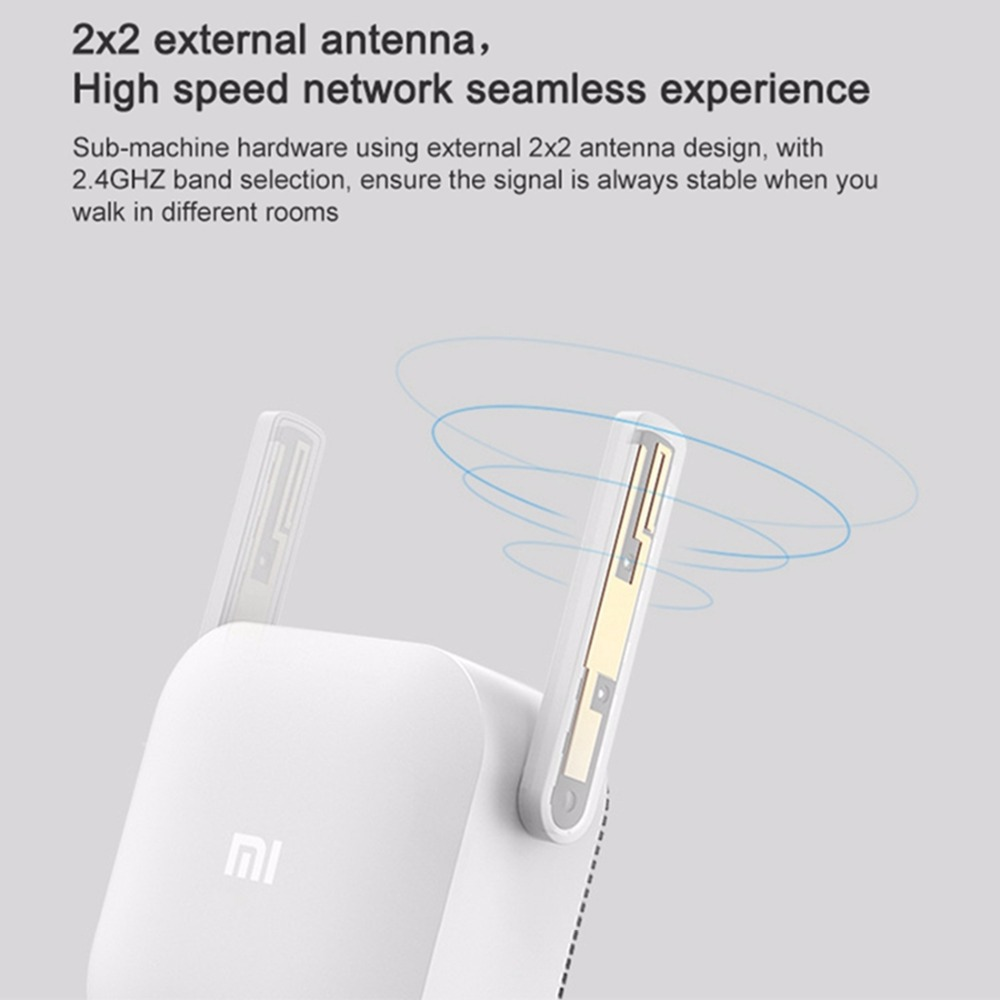 Original Xiao mi puissance électrique chat Wifi répéteur 2.4G 300Mbps sans fil gamme Extender routeur Point d'accès mi Signal amplificateur - 4