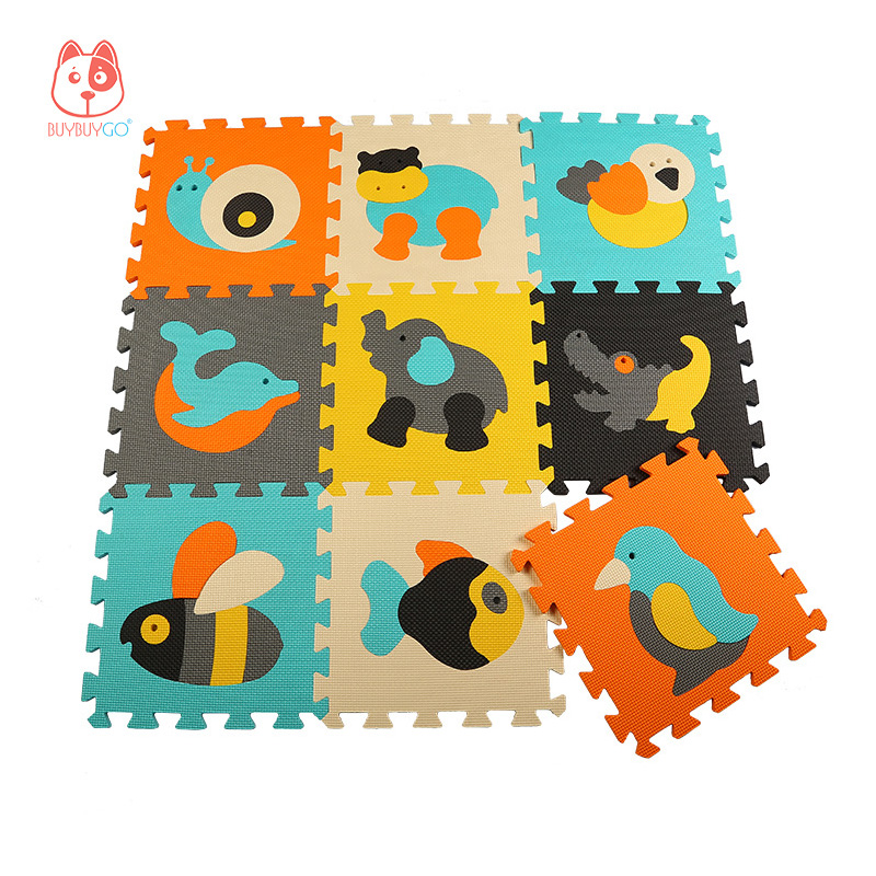 Gym Mats Non Toxic: Aliexpress.com : Buy Animal Series Baby Play Mat Puzzle