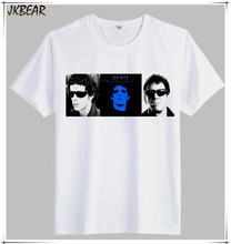 American Rock Band The Velvet Underground Principal Songwriter Lou Reed T Shirts for Men Plus Size