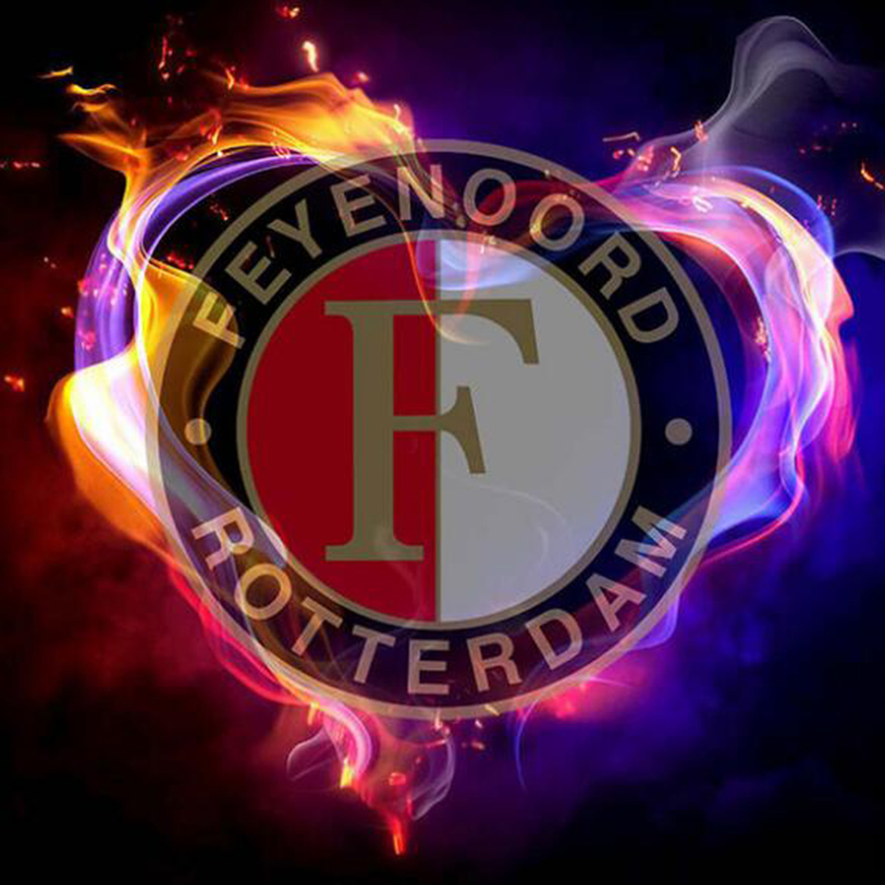 Diamond embroidery football icons AJAX&PSV&FEYENOORD 5d diy diamond painting Cross Stitch full drill Rhinestone