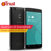 Doogee X5 MAX Mobile Phone 5 Inch 1280×720 HD MTK6580 Quad Core Andriod 6.0 1GB ROM 8GB RAM 8MP CAM Fingerprint 3G Smartphone