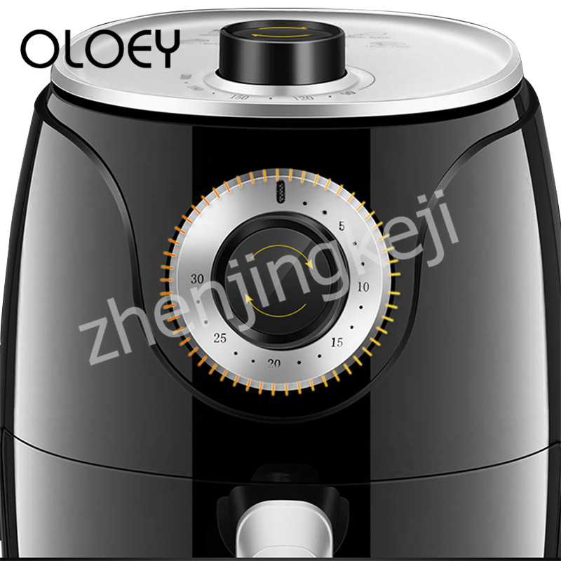 High Capacity Household Intelligent Air Fryer Smoke free Electric Fryer Fries Machine 2 6L Multifunction Low Fat Non stick Pan in Air Fryers from Home Appliances