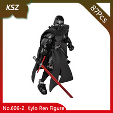 Doinbby Store KSZ 606 2 87Pcs Star Space Wars Series Kylo Ren Figure font b Model
