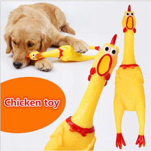 Hot Sale Screaming Chicken Squeeze Sound Toy Pets Dog Toys Product Shrilling Decompression Tool Squeak Vent chicken free delivery 13feet giant inflatable chicken hot sale nylon oxford blow up chicken model for advertising toys